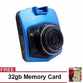 Harga Full HD Automobile Black Box Dashcam with Free 32GB Memory Card