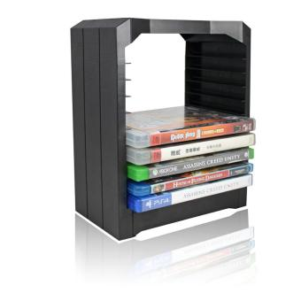 Multifunctional Games Disks Storage Tower With Drawer For PS4 Game Controller - intl Price Philippines