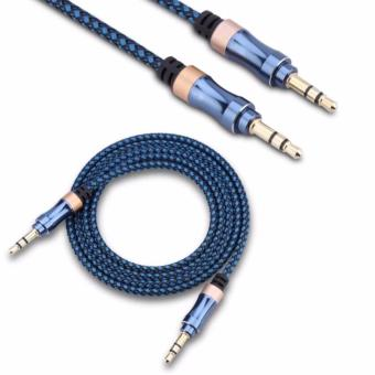 AUX-C3 1M 3.5mm To 3.5mm Stereo Audio Cable For Speaker(Blue) Price Philippines