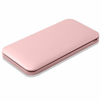 N-Power NP-1070 10,000mAh Fast Charging 3.0A Output Built-In Micro USB (V8) with Lightning Adapter (IP5) Powerbank (Rose Gold) Price Philippines