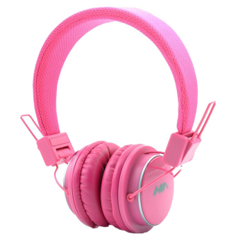 Nia Q8-851s 108dB Bluetooth Stereo Headset Wireless Stereo Headphones (Pink) Price Philippines