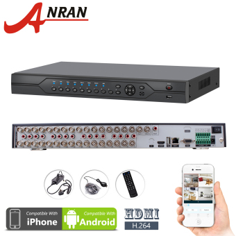 Anran AR-C32DVR 32CH Channel DVR CIF HDMI & VGA Real Time H.264 Surveillance Digital Video Recorder Motion Detection Email Alert(Intl) Price Philippines