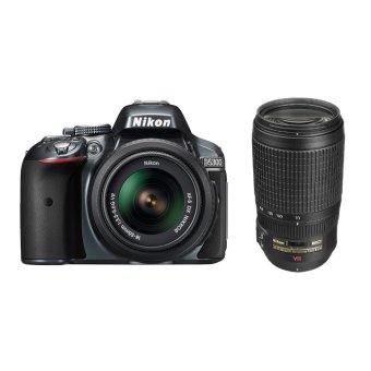 Nikon D5300 18-55mm and 70-300mm VR Lens Kit