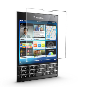 Harga PopSky Clear Tempered Glass Screen Protector Premium 9H Film for Blackberry Passport Q30
