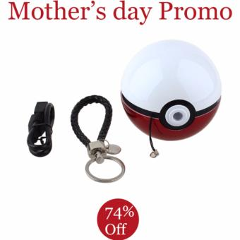 Harga Pokeball Powerbank with LED projector!