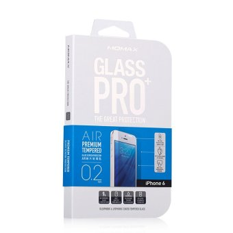 Harga MOMAX Glass Pro+ XS Screen Protector for Apple iPhone 6 (Transparent)