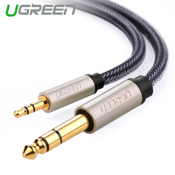 Harga UGREEN 3.5mm to 6.35mm Adapter Jack Audio Cable (2m)