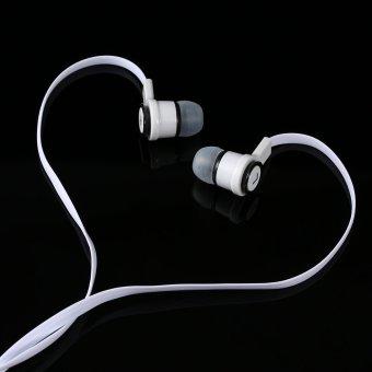 Headphone In ear Binaural Stereo Headset 3 5mm Audio Plug Music Earphone Noise .