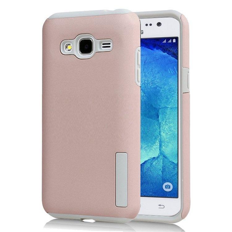 Incipio Tpu Back Case Cover For Samsung Galaxy J1 2016 J120 Rose Gold .
