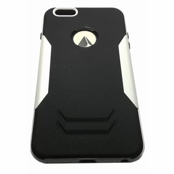 Ingram Shockproof Case for Apple iPhone 6s Plus (Black/White)