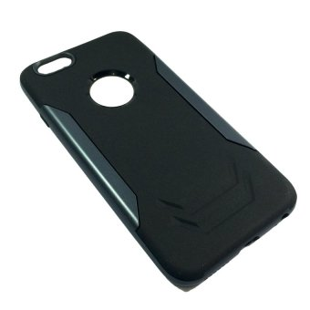 Ingram thin Back Case for Apple iPhone 6G 4.7 ( Black and Grey)