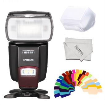 INSEESI IN-560IV Wireless IN560IV Flash Speedlite For Canon NikonPentax Panasonic Sony Cameras AS Viltrox JY680A Triopo TR-950