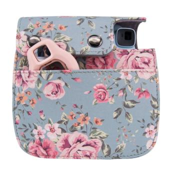 Instaxtic Leather Case with sling strap for Instax Mini 8 / Mini 8+/ Mini 9 - 4