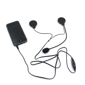Interphone Motorcycle Helmet Multi Intercom headset For MP3 Cell phone (Black) - picture 2