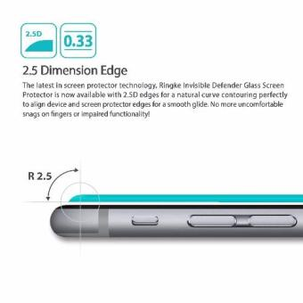 Invisible Defender Tempered Glass [0.33mm] The Ultimate ClearShield Screen Protector for Google Pixel - 2