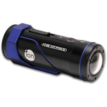 ION Air Pro 3 12MP Action Sports Camera (Black/Blue)