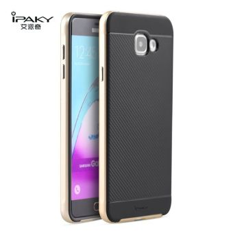 iPaky Slim TPU+PC Shockproof Hybrid Case for Samsung Galaxy A5A5100 2016 (Gold)
