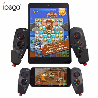 Ipega PG-9055 Adjustable Wireless Bluetooth Game Pad Controller (Black)