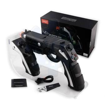 iPega PG-9057 Wireless Bluetooth Gun Style Game Controller (Black) - 2