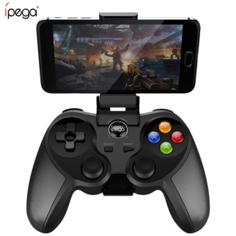 iPega PG-9078 Universal Wireless Bluetooth Game Controller for iOS & Android (Black)