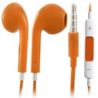 Iphone 5 Model Stereo Earphone/Headset(Orange) - picture 2