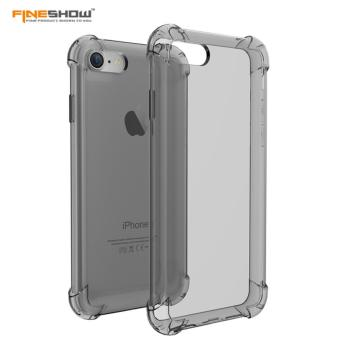 IPHONE 6/6s SOFT TPU SILICON SHOCK PROOF (BLACK)