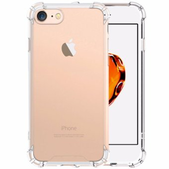 iPhone 7 Case GiMi Shock Absorption Bumper Soft TPU Anti-ScratchCover Case for iPhone 7(Clear) - intl Price Philippines