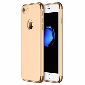 iPhone 7 Case,GiMi Stylish Slim Hard Case with 3 Detachable Partsfor Apple iPhone 7, CHROME GOLD and MATTE BLACK, [CLIP-ON] - intl Price Philippines