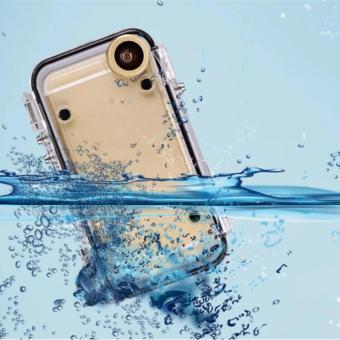 iPhone IP-68 Certified Waterproof Diving House Case for iPhone 6 Plus 6S Plus