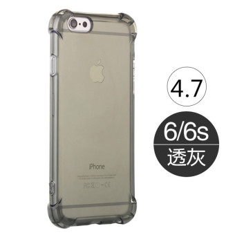 Iphone6/6plus silicone transparent six protective case phone case