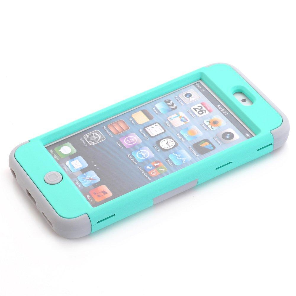 ... iPod Touch 6 Case,iPod Touch 5 Case, BURLING 3 in 1 Shock AbsorbingCase ...