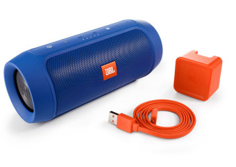 JBL Charge 2 Plus Portable Bluetooth Speaker (Blue) - picture 2