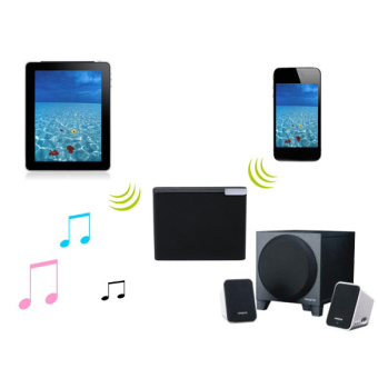 Jo.In Bluetooth A2DP Music Audio Receiver Adapter for iPhone 4 4SiPod Black (Black) - 4