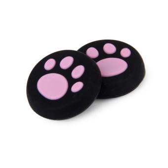 Joystick Grip Caps for PS4 Set of 4 - Black/Pink - picture 2
