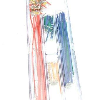 Jumper Cable Wire Kit U Shape Solderless Breadboard 140pcs - picture 2