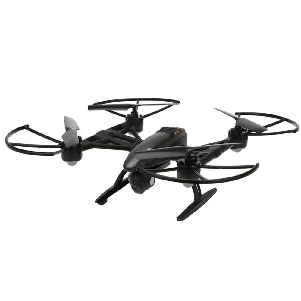 Jxd 509W Wifi Real-Time Transmission 2.4Ghz / App Control 720P Cam4Ch 6 Axis Gyro Quadcopter Headless Mode (Black) with Free Samsung2A 1M Micro Usb Charger Charging Sync Data Cable For Smart Phone