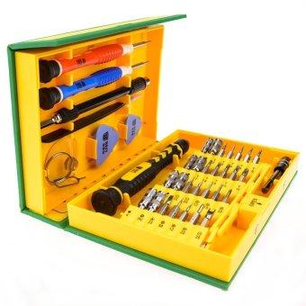K-Tools 38 in 1 Precision Multifunction Repairing Screwdriver ToolKit (Yellow) - 2