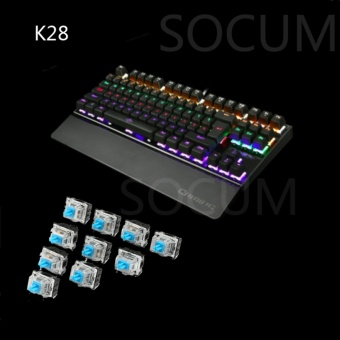 K28 Backlight Mechanical Gaming Keyboard( BLACK)