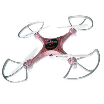 Kai Zheng XX9 Drone 2.4 GHz 6 CH RC Quadcopter with 2Mp Camera (Electric Pink) - 2