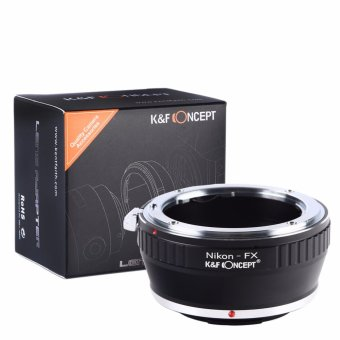 K&F Concept Camera Lens Adapter Ring For Nikon Mount Lens To Fujifilm X-T1 Xpro1 - intl