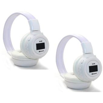 KDS N65 90dB Digital Headset (White) Set of 2