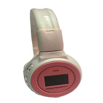 KDS N65 Digital Headset (White/Pink)