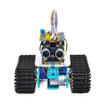 Keyestudio Bluetooth Mini Tank Robot Smart Car Kit - Black + Yellow- intl - 3
