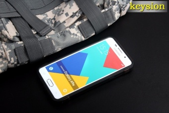 Keysion Fashion Case For Samsung Galaxy A9(2016) Plastic and TPUHard Cover for A9 Pro Camouflage Style Armor Protector A900 A910Shell - intl - 4