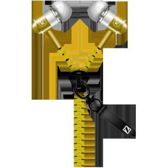 KingCom Solo Z Earphone (Yellow)