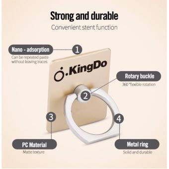 Kingdo Brand Finger Ring Mobile Phone Smartphone Holder Stand - 3