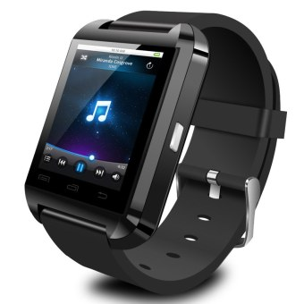 KingDo U8 Bluetooth Smart Watch (Black)