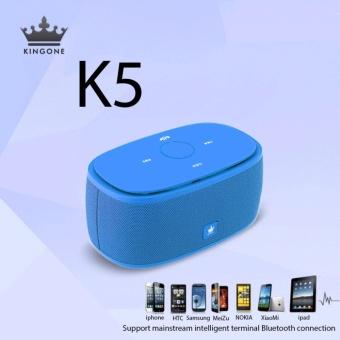 Kingone K5 Touch Portable Bluetooth Speaker (Blue) - 3
