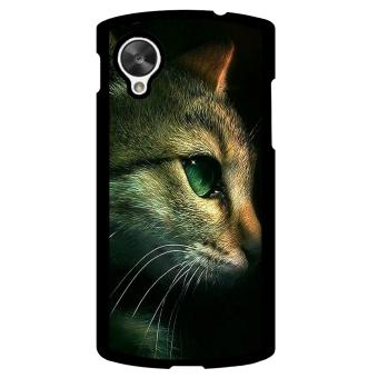 Kitten Cat Pet Cute Pattern Phone Case for LG Nexus 5 (Multicolor)