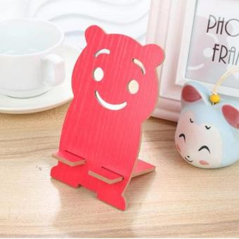 KMALL Animal Cellphone Stand Bear (Red) Price Philippines